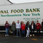 Youth volunteering at The Regional Food Bank